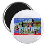 Fort Riley Kansas Magnet