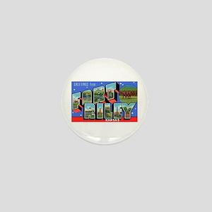 Fort Riley Kansas Mini Button