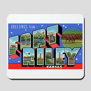 Fort Riley Kansas Mousepad