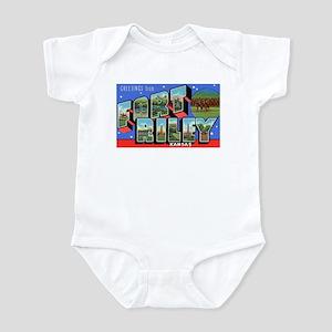 Fort Riley Kansas Infant Creeper