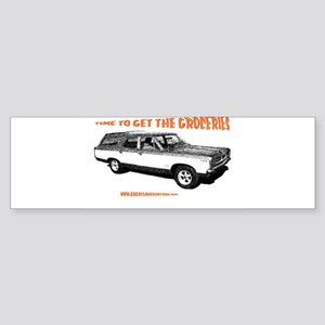 GET THE GROCERIES Sticker (Bumper)