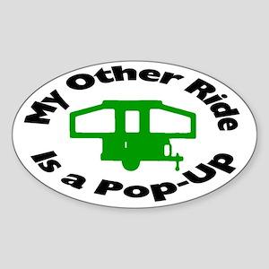 Pop-Up Sticker (Oval)