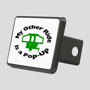 Pop-Up Rectangular Hitch Cover