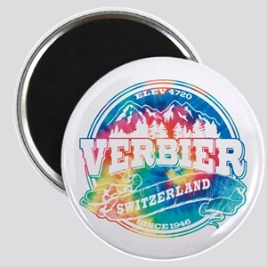 Verbier Old Circle Magnet