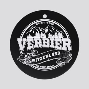 Verbier Old Circle Ornament (Round)