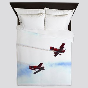 Up and Down (signed) Queen Duvet