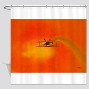 Belly Up 2 (signed) Shower Curtain