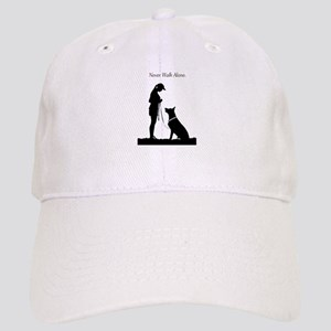 German Shepherd Silhouette Cap