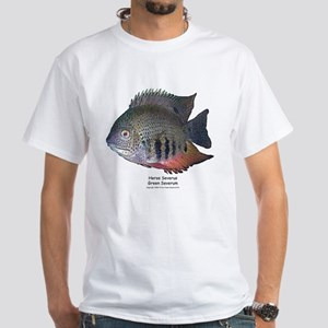 Heros severus - Green Severum White T-Shirt