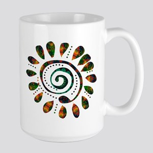 power wild spiral Large Mug