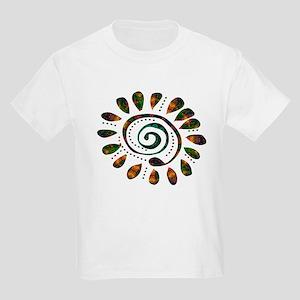 power wild spiral Kids Light T-Shirt