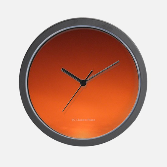 Midnight Sun Wall Clock