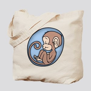 Monkey Boy Tote Bag