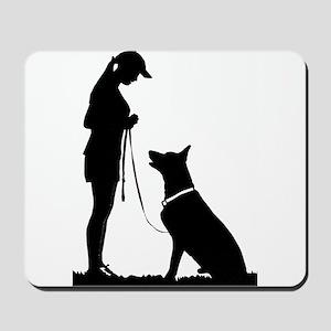German Shepherd Obedience Mousepad
