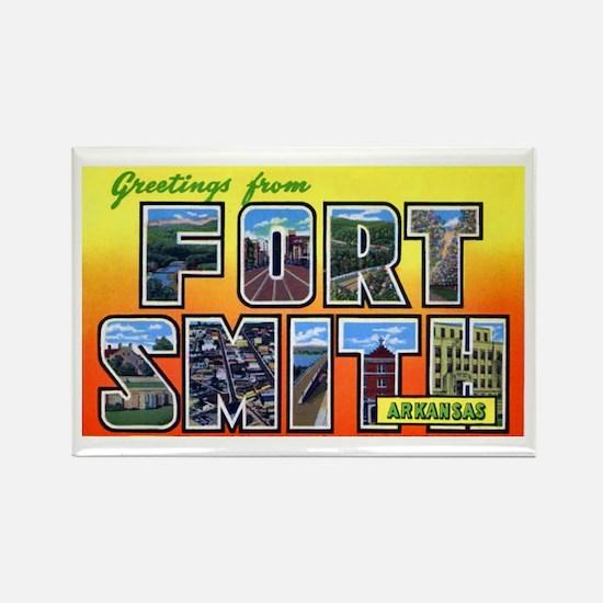 Fort Smith Arkansas Rectangle Magnet