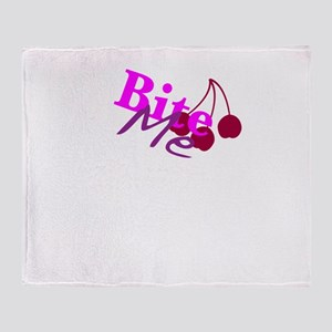 Bite Me Throw Blanket