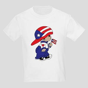 Baby Boricua Kids Light T-Shirt
