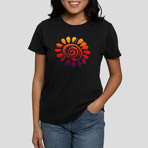 sesame wild spiral Women's Dark T-Shirt
