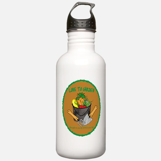 GARDENING - LOVE TO BE ME Water Bottle