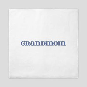 Grandmom Blue Glass Queen Duvet