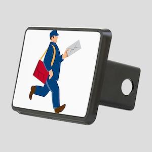 mailman postal worker delivery man Rectangular Hit