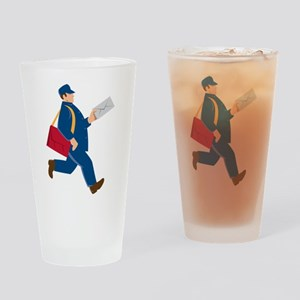 mailman postal worker delivery man Drinking Glass