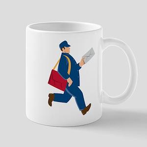 mailman postal worker delivery man Mug