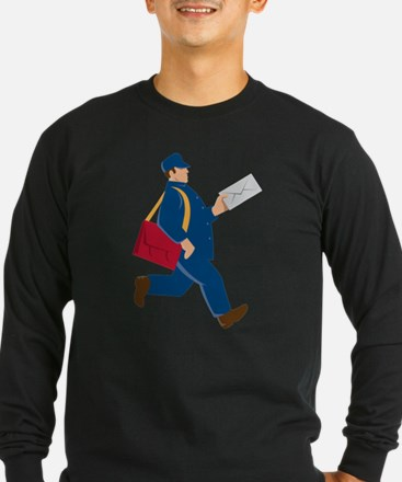mailman postal worker delivery man T