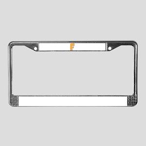 F License Plate Frame