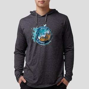 Rhode Island - Point Judith Mens Hooded Shirt