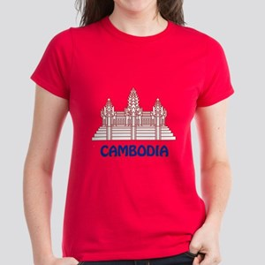 Cambodia Women's Dark T-Shirt