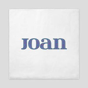 Joan Blue Glass Queen Duvet