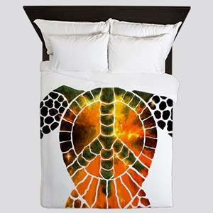 sea turtle-3 Queen Duvet