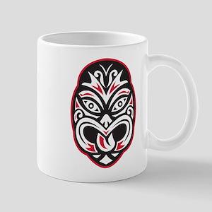 maori tiki moko tattoo mask Mug