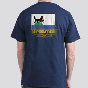Irkutsk Flag Dark T-Shirt