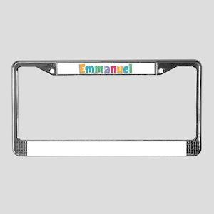 Emmanuel License Plate Frame
