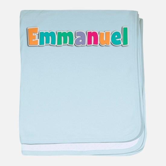 Emmanuel baby blanket