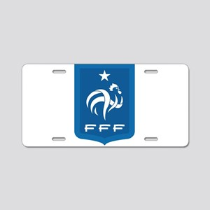 France Aluminum License Plate