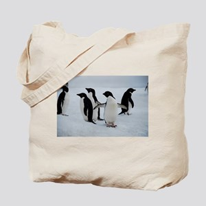 Adelie Penguin in Antarctica Tote Bag
