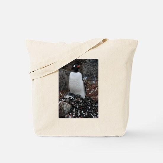 Gentoo Penguin at Port Lockroy Tote Bag
