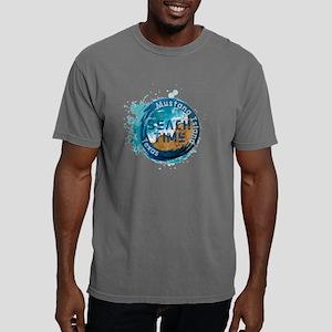 Texas - Mustang Island Mens Comfort Colors Shirt