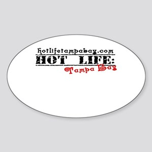 Hot Life Product Proof Sticker (Oval)