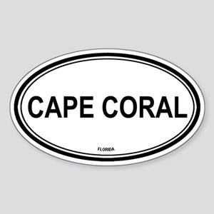 Cape Coral (Florida) Oval Sticker