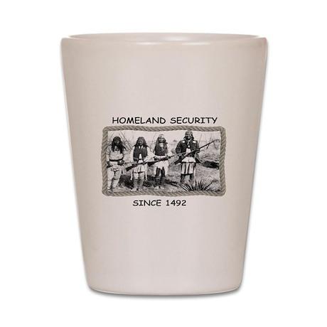 Homeland Security Shot Glass