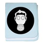 Gas Mask 1 Filter baby blanket
