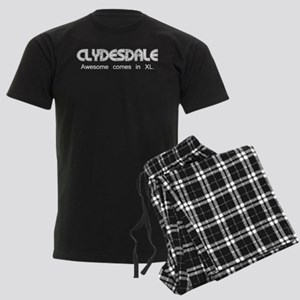 Clydesdale - Awesome Men's Dark Pajamas