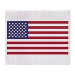 US Flag XL Throw Blanket