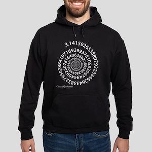 Spiral Pi Hoodie (dark)