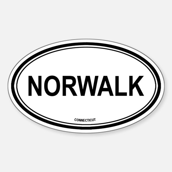 Norwalk (Connecticut) Oval Decal