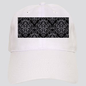 DAMASK1 BLACK MARBLE & GRAY COLORED PENCIL Cap